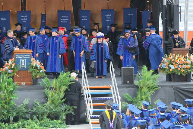 Graduation from the University of Illinois at Urbana-Champaign