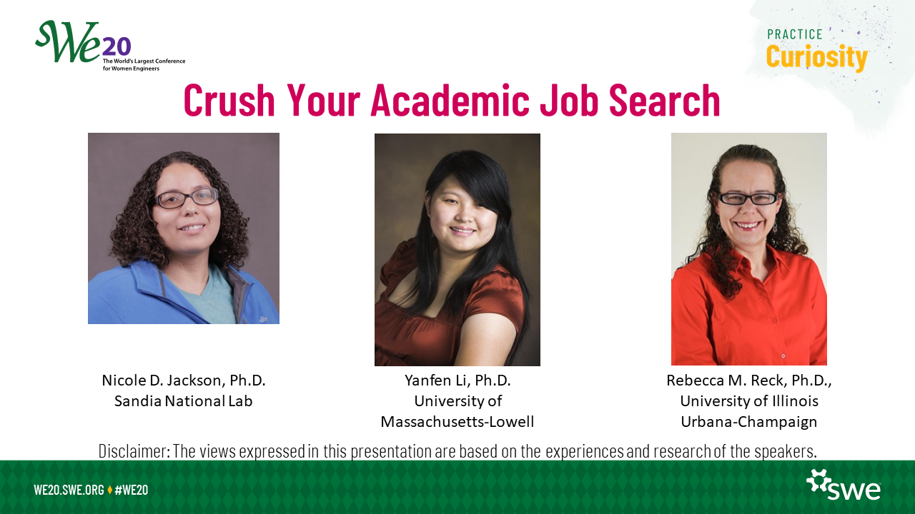 Crush Your Academic Job Search